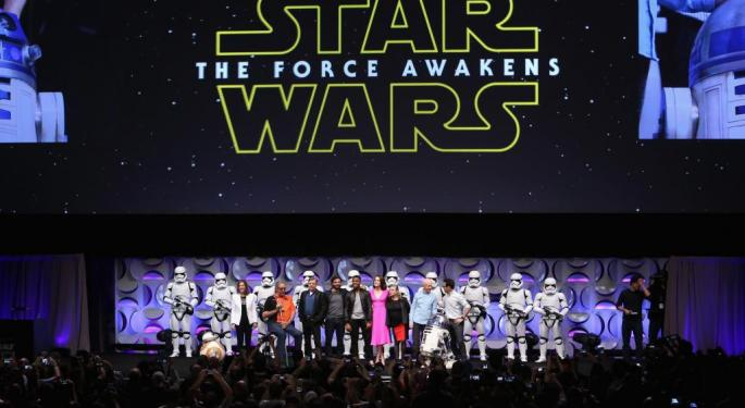 Here's What The Street Thinks Of Disney After 'Star Wars' Record-Breaking Weekend
