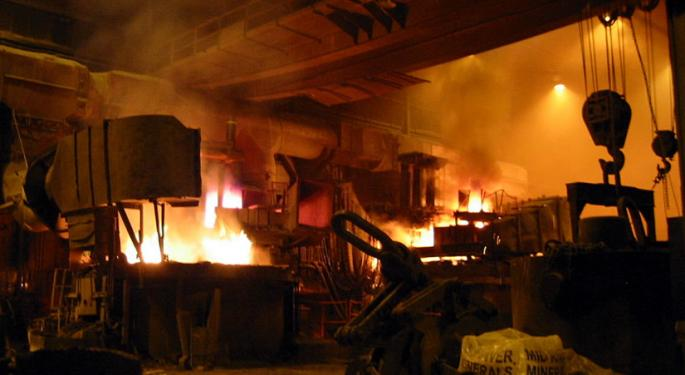 Nucor Complains About Imports; Steel Sector Sells Off
