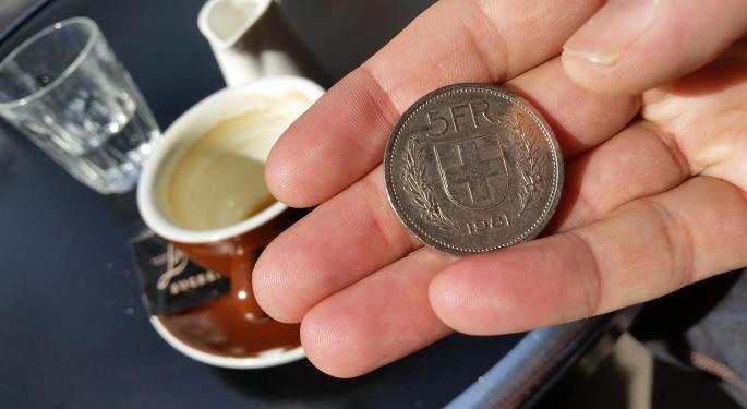 Falling Franc Super For Switzerland ETFs