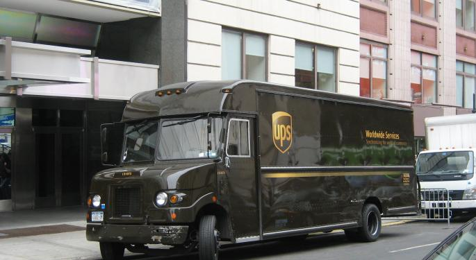 Market Moves Toward UPS' Strengths Could Be Beneficial; Aegis Initiates At Hold