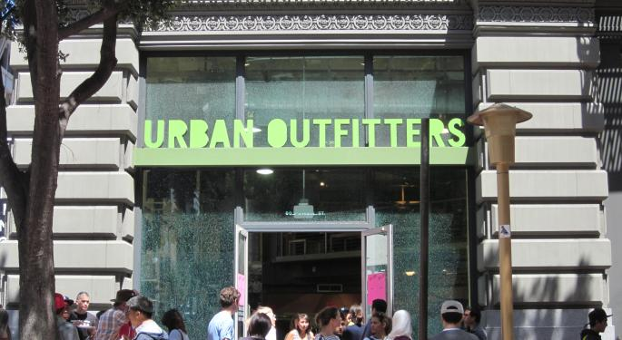 Urban Outfitters Poised For A Beat, According To Wunderlich
