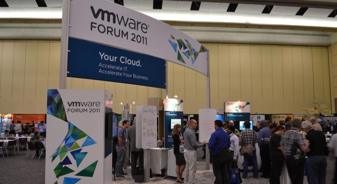 The Dell-EMC Deal Still An Overhang For VMware