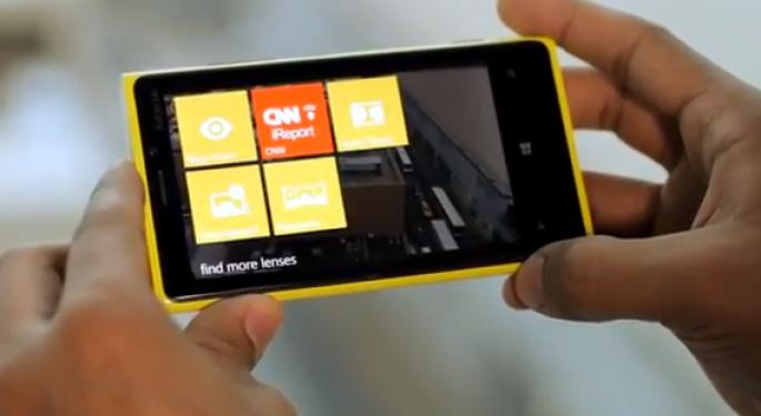 Apple Fans Would Swoon for Nokia's Lumia 920 -- If It Were an iPhone
