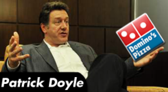 Zing Talk Interview: Domino's CEO Patrick Doyle Doesn't Accept Government Cheese