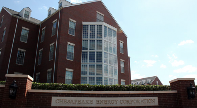 Chesapeake Up On Strong Revenue and Asset Sales