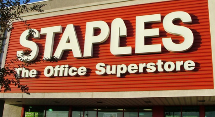 Staples Falls on Restructuring; Less Interest From Private Equity?