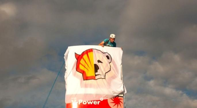 Shell Strikes Back at Arctic Protestors
