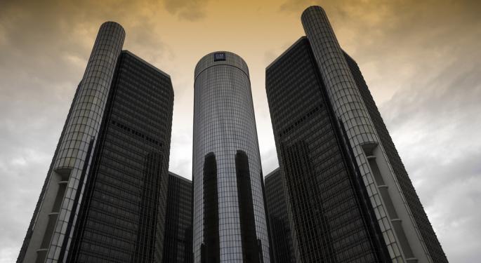 General Motors Wooed by Wall Street